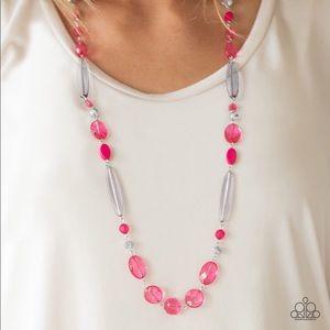 Paparazzi Quite Quintessence Pink Necklace